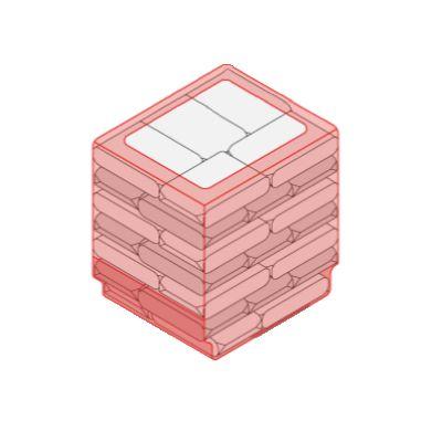Линия беспаллетной упаковки в пленку