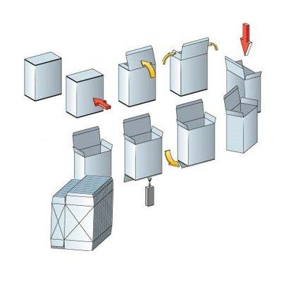 Вертикальные картонажные машины от Аквипак