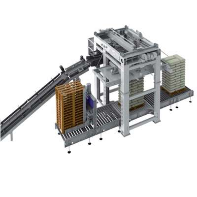 Палетизатор манипулятор ПРС-1000-6-С на 6 колоннах