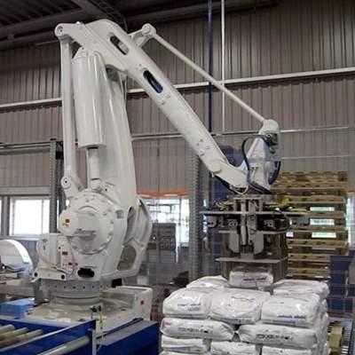 Антропоморфный робот паллетайзер