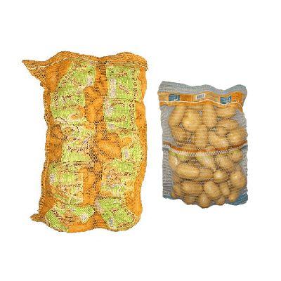 Линии упаковки овощей и фруктов в сетку мешок