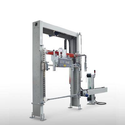Обвязочная стреппинг машина ВР-80 для строповки паллет с готовой продукцией
