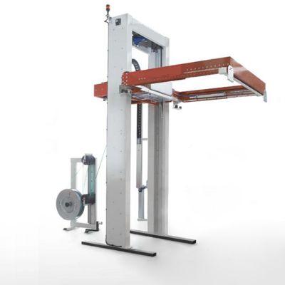 Обвязочная машина горизонтального типа для стропления грузов в несколько ярусов