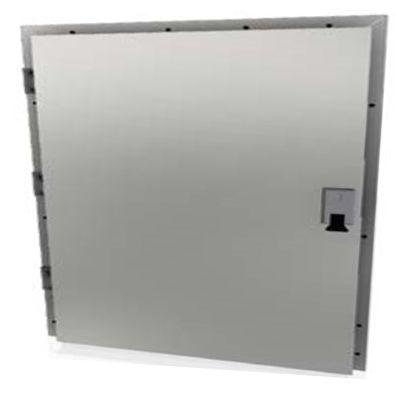 Двери для морозильных камер из нержавейки