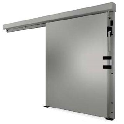 Раздвижные двери из нержавейки для морозильных камер