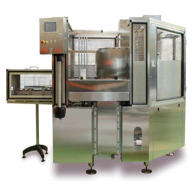 Закаточная машина К-4 для фасовки мясных консервов в жестяные банки фасовки
