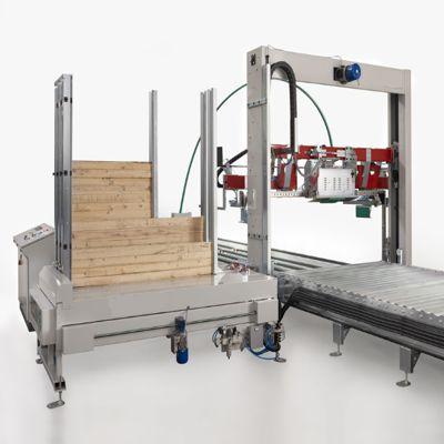 Строповочная машина вертикального типа