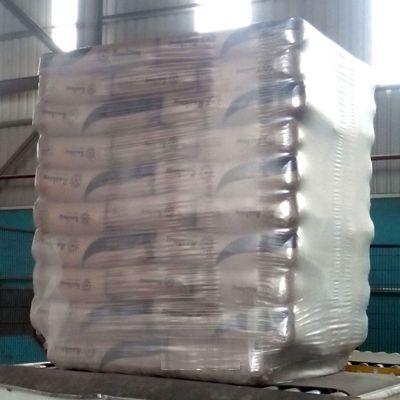 Беспаллетная упаковка цемента в стрейч худ пленку