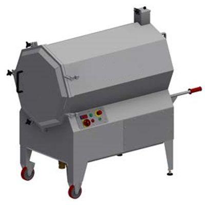 Моечная машина для коптильных палок на мясокомбинат