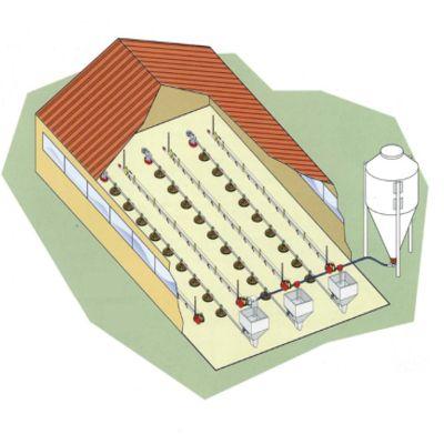 Монтаж оборудования птицефабрики под ключ