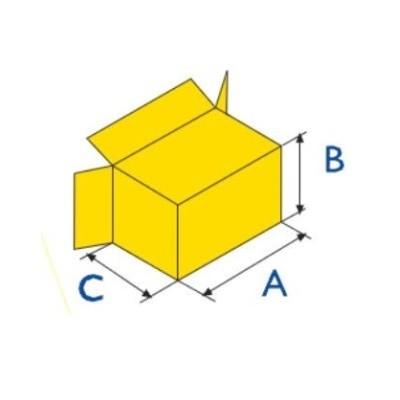 Упаковка групп коробок в большую картонную коробку