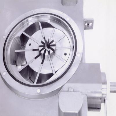 Наполнитель колбасных оболочек - ротор с лопатками внутри