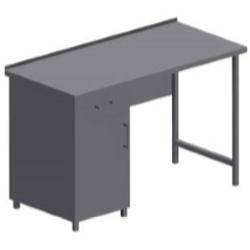 Стол простой из нержавейки