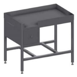 Стол из нержавейки для производства