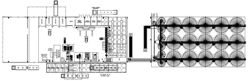 Мини завод по производству комбикорма для животных