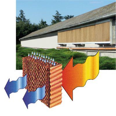 Система теплоизоляции окон птицефабрики