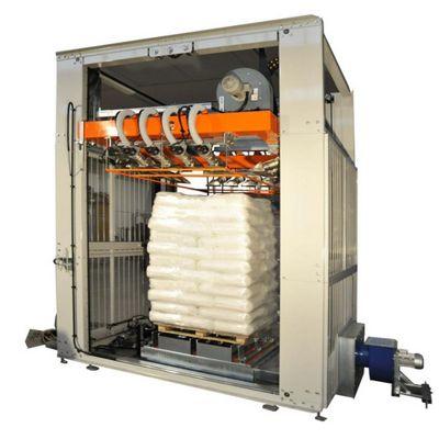 Печь для упаковки паллет в термоусадочную пленку