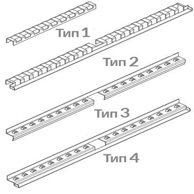 Варианты полок для тележек рамных