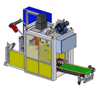 FFS упаковщик в рукавные мешки 1200 мешков / час