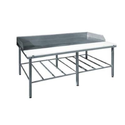Санитарные столы из нержавейки для гигиены производства