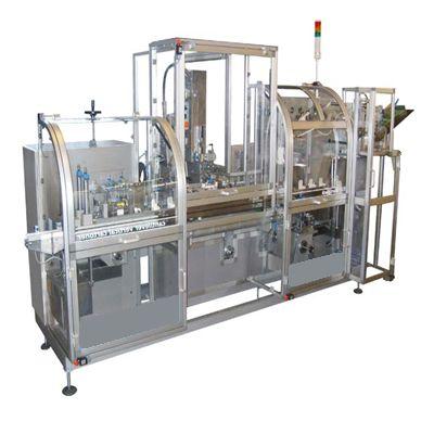 Вертикальная картонажная машина НХС для фасовки стирального порошка