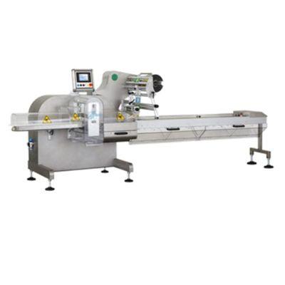 Горизонтальный упаковочный автомат для фасовки штучных полуфабрикатов