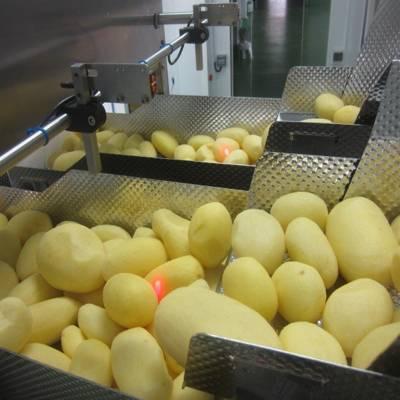 Дозирование чищенного картофеля
