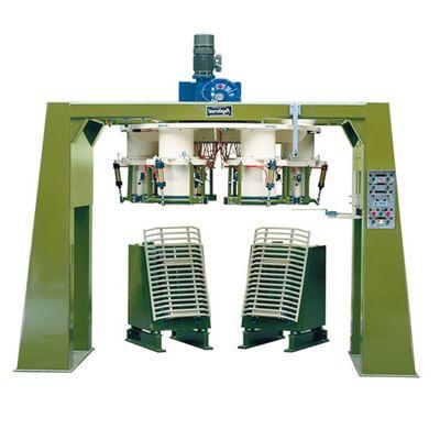 Линия полу- автомат для затарки зерна в мешки с открытым верхом