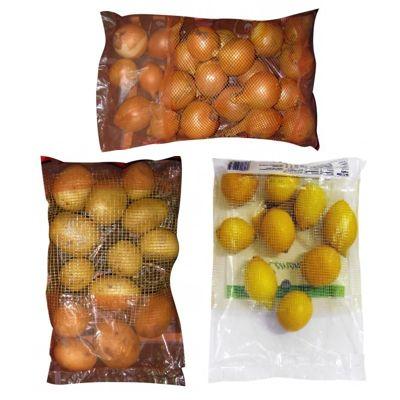 Упаковка овощей и фруктов в комбинированные мешки