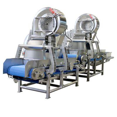 Машина для удаления остатков жидкости от овощей и фруктов Д+