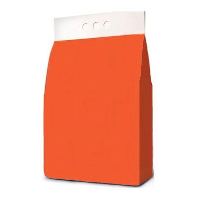 Пакет гассет с проваркой граней и плоским дном для порошка