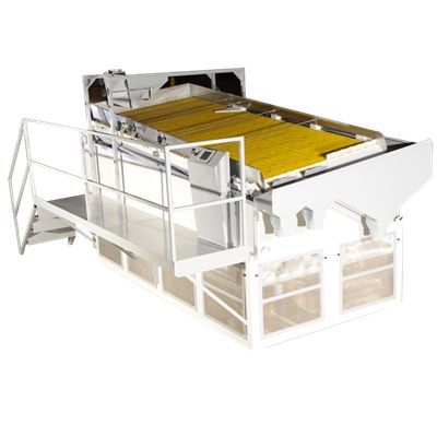 Сепаратор тримма при приемке орехов в линию переработки