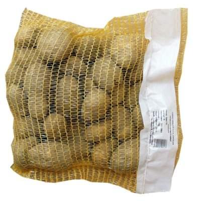 Картофельная сетка мешок с полиэтиленовой лентой