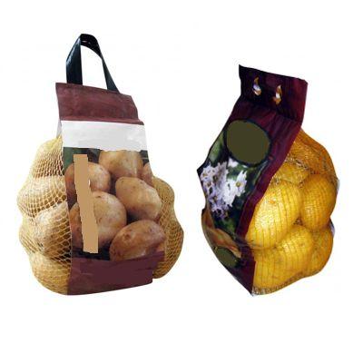 Упаковка овощей в сетку Домик