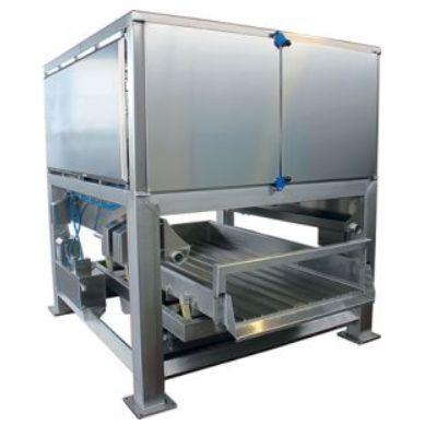 Машина для удаления остатков жидкости от овощей и фруктов Мистраль