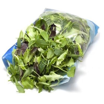 Линии зелени, салата, ароматических трав