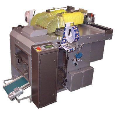 Упаковочная машина для фасовки овощей, фруктов в сетку Бандероль