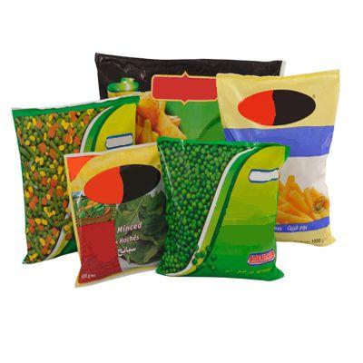 Пакет подушка с полуфабрикатами