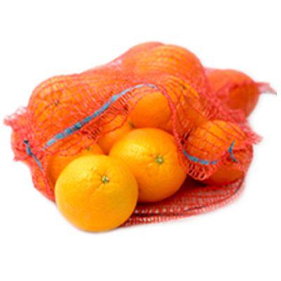 Фасовка фруктов в сетку мешок